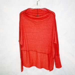 We The Free Ribbed Oversized Slouchy Knit Shirt